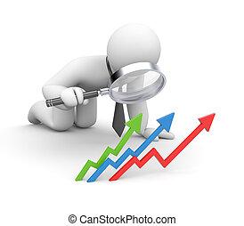 ビジネス, 成功, ∥分析する∥
