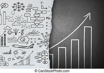ビジネス, 成功, 変化しなさい, 考え