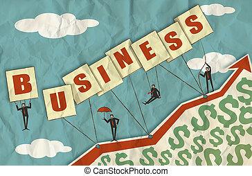 ビジネス 成長