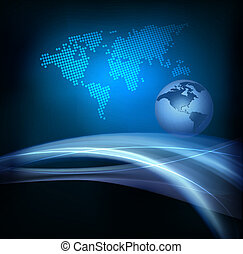 ビジネス, 抽象的, 地球, 背景, 優雅である