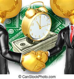 ビジネス, 握手, 概念