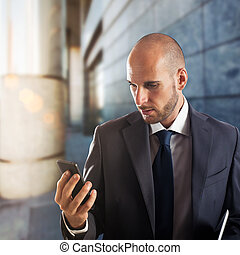 ビジネス, 携帯電話