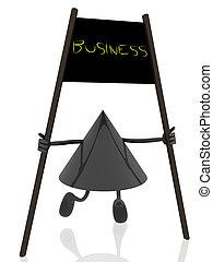 ビジネス, 旗