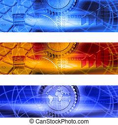 ビジネス, 旗, 5