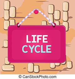 ビジネス, 板, panel., 生活, 有機体, 執筆, 変化する, しまのある, 長方形, 有色人種, 固定, テキスト, フレーム, 概念, シリーズ, 単語, ひも, 動物, cycle., 背景, 釘