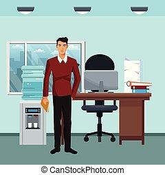 ビジネス, 特徴, オフィス, シナリオ
