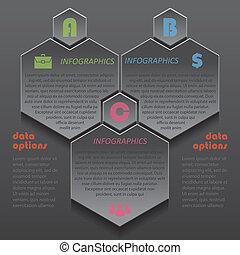 ビジネス, 現代, デザイン, テンプレート, infographics, プレゼンテーション