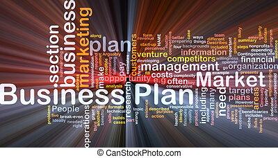 ビジネス, 白熱, 概念, 計画, 背景