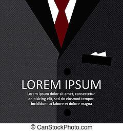 ビジネス, 背景, スーツ