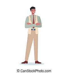 ビジネス, 腕, crossed., ∥(彼・それ)ら∥, とどまること, 労働者, マレ, 特徴