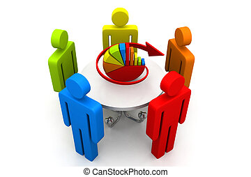 ビジネス, 計画, 概念