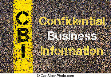 ビジネス, 頭字語, cbi