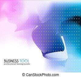 ビジネス, cover., パンフレット, 企業である, ∥あるいは∥, カード