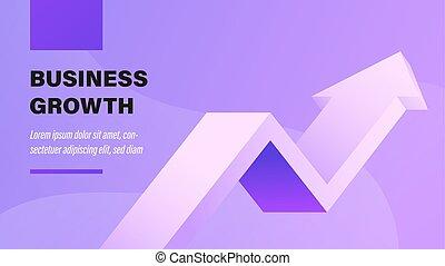 ビジネス, growth.