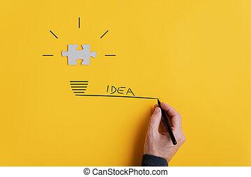 ビジョン, イメージ, 考え, 概念
