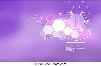 ビタミン, text., 印, テンプレート, minerals., fluorine