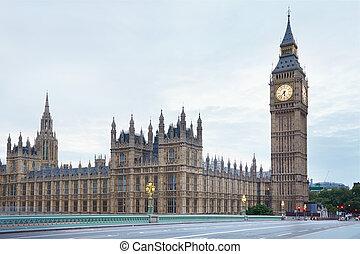 ビッグベン, そして, 宮殿, の, westminster