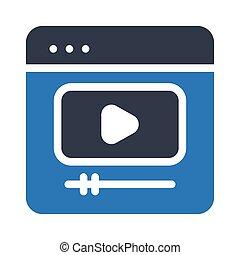 ビデオ, オンラインで