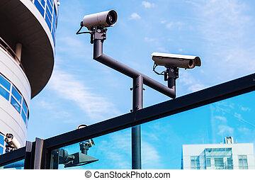 ビデオ, 監視