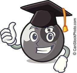 ビリヤードボール, 特徴, 漫画, 卒業