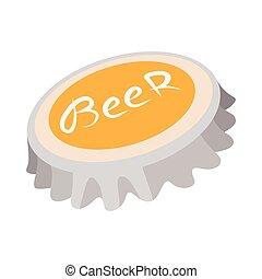 ビンの王冠, アイコン, ビール, 漫画