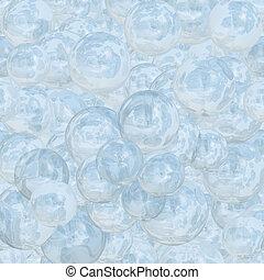 ビーズ, 氷, 背景, 抽象的