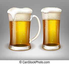 ビールガラス