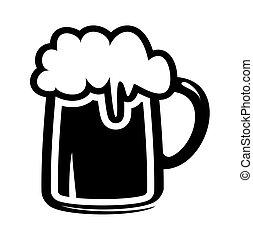ビールマグ, アイコン