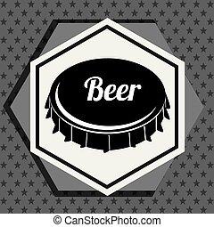 ビール, グラフィック, 優れた