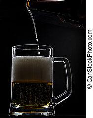 ビール, 低下, 最後