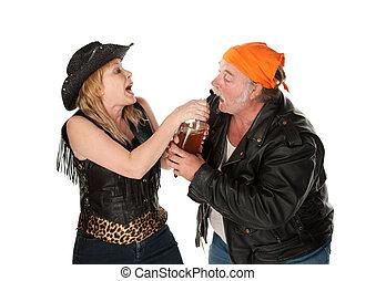 ビール, 口論