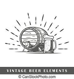ビール, 型, 要素