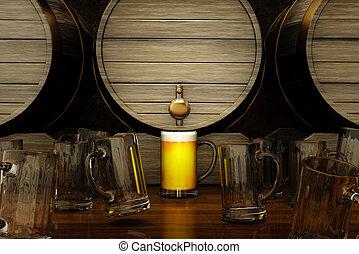 ビール, 最も良く