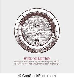 ビール, 木, ワイン, barrel., ∥あるいは∥