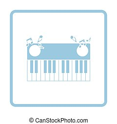 ピアノキーボード, アイコン
