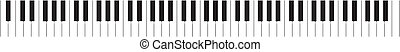 ピアノキーボード