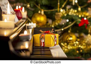 ピアノ, クリスマスの ギフト