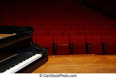 ピアノ, コンサート, 壮大