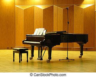 ピアノ, ホール, コンサート