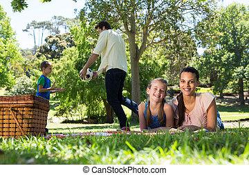 ピクニック, パー, 家族