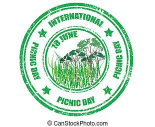 ピクニック, 日, インターナショナル