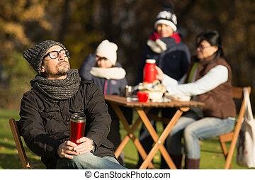 ピクニック, 若い 家族