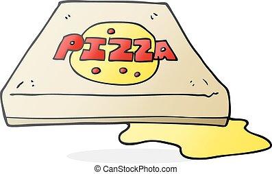 ピザ, 漫画