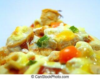 ピザ, 食物