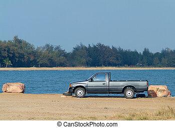 ピックアップ トラック, ∥において∥, ∥, 水辺地帯