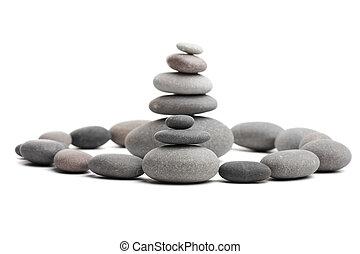 ピラミッド, の, ∥, 石