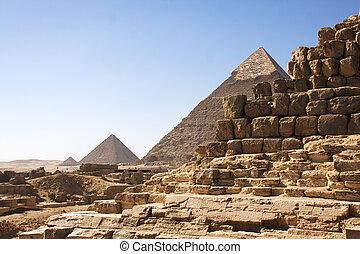 ピラミッド, ギザ