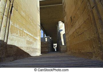ピラミッド, ギザ, 考古学的, カイロ, 光景, eqypt, saqqara