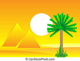 ピラミッド, サハラ砂漠, 日, エジプト人