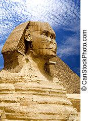 ピラミッド, スフィンクス, エジプト人